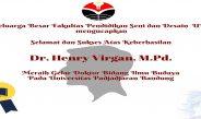 Selamat dan Sukses kepada Dr. Henry Virgan, M.Pd.